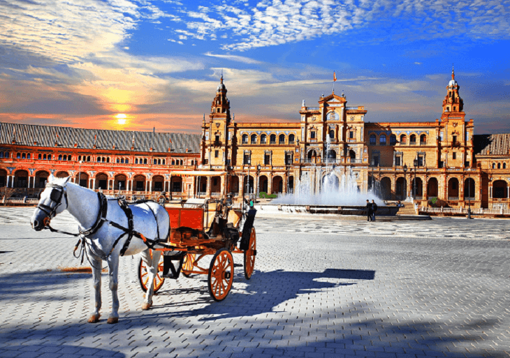 Charakteristické prvky Andalúzie, Španielsko